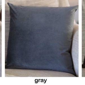 Burke Home Velvet Throw Pillow Cover